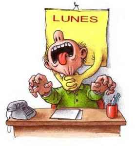 lunes, trabajo, horrible, mal jefe