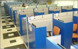 call center trabajo en silencio