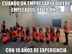 curriculum trabajo experiencia